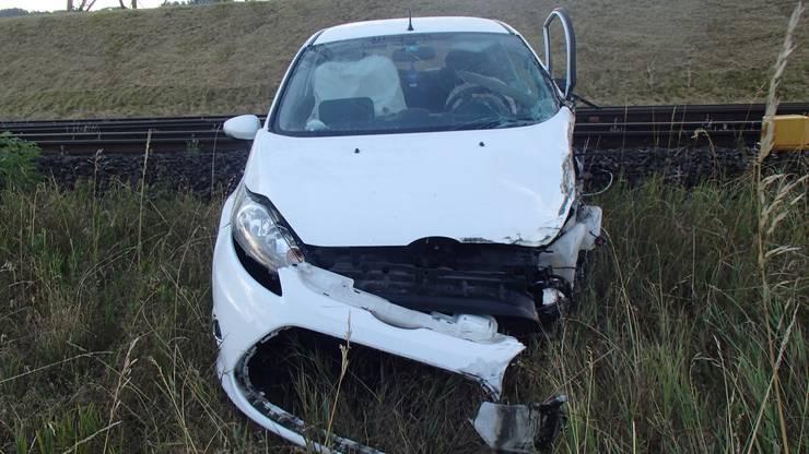 Der Sachschaden am Ford wird auf 35'000 Franken geschätzt.