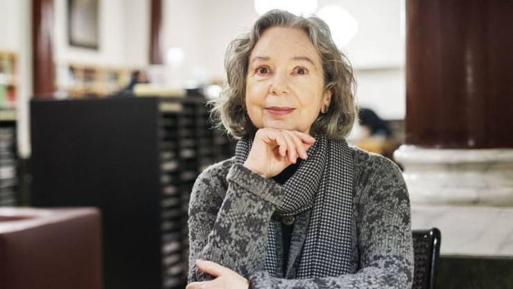 Ulla Hahn - hier 2015 im Literaturhaus Zürich - hat den hochdotierten Greve-Literaturpreis erhalten.