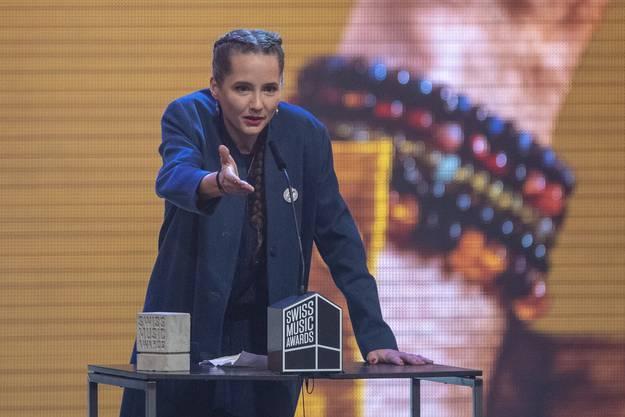 Die Bernerin holte den Swiss Music Award in der Kategorie «Best Female Act».