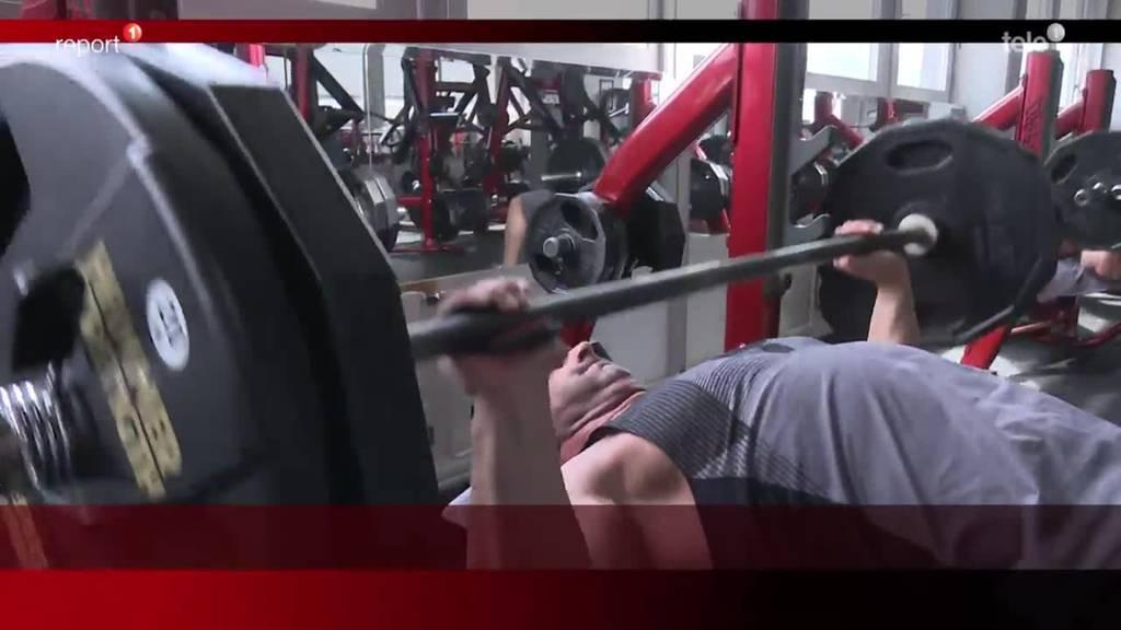 Bodybuilder Steffen Woll
