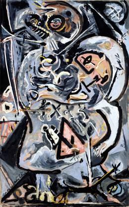 «Totem Lesson I» wäre nur eines von zahlreichen Pollock-Bildern, die das Kunstmuseum Basel gern im eigenen Bestand hätte.  Anderson-Collection/Prolitteris