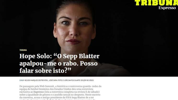 So berichtet die portugiesische Zeitung online.