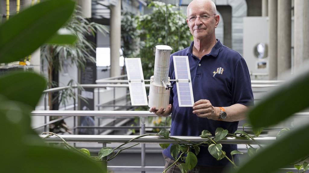 Astronaut Claude Nicollier ist der erste und bisher einzige Schweizer, der ins Weltall geflogen ist