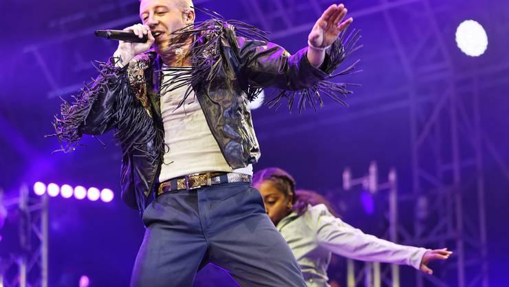 Am Heitere Open Air 2018 in Zofingen überzeugte am Samstagabend der Der US-Superstar Macklemore mit schnellen und melodiösen Rhymes und viel Bewegung das begeisterte Publikum.