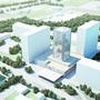 So könnte der neue «Domus»-Turm dereinst aussehen.