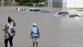 """Nach dem Sturm """"Debbie"""" stehen in Australien zahlreiche Orte unter Wasser."""