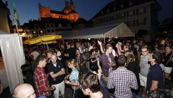Märetfescht Solothurn - dieses Jahr ohne Kollegiumshof