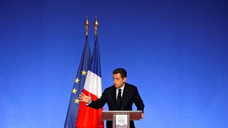 Sarkozy inszeniert sich selbst