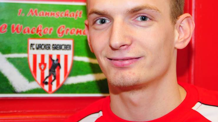 Optimistisch für die Rückrunde: Wackers Alban Jahiu.