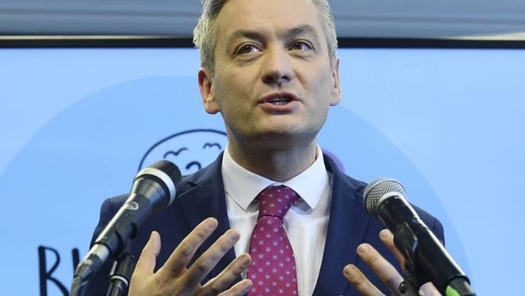 Konkurrenz für Polens umstrittene PiS-Regierung: Der Ex-Bürgermeister der nordpolnischen Stadt Slupsk und Hoffnungsträger der politischen Linken, Robert Biedron, hat eine eigene Partei gegründet.