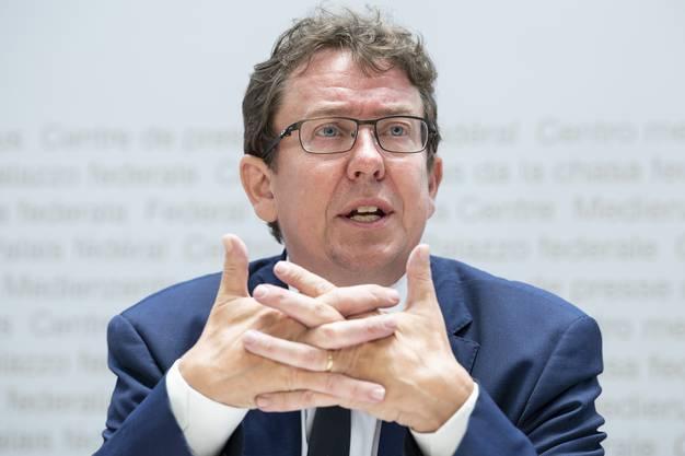 SVP-Präsident Albert Rösti glaubt nicht, dass das ganze Vertragspaket der Bilateralen I bedroht ist.