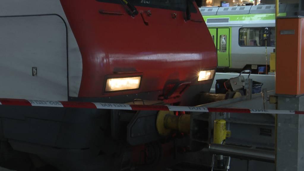 Luzern: Zug ist in Prellbock geprallt - 12 Verletzte