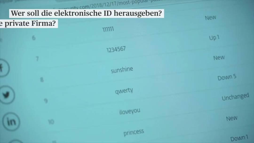 E-ID-Gegner bereiten Referendum vor