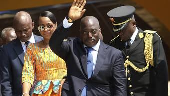 Kongos Noch-Präsident Joseph Kabila willigte in die Machtübergabe ein (Archiv)
