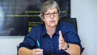 Elisabeth Abbassi, Präsidentin des Aargauischen Lehrerverbandes (alv).
