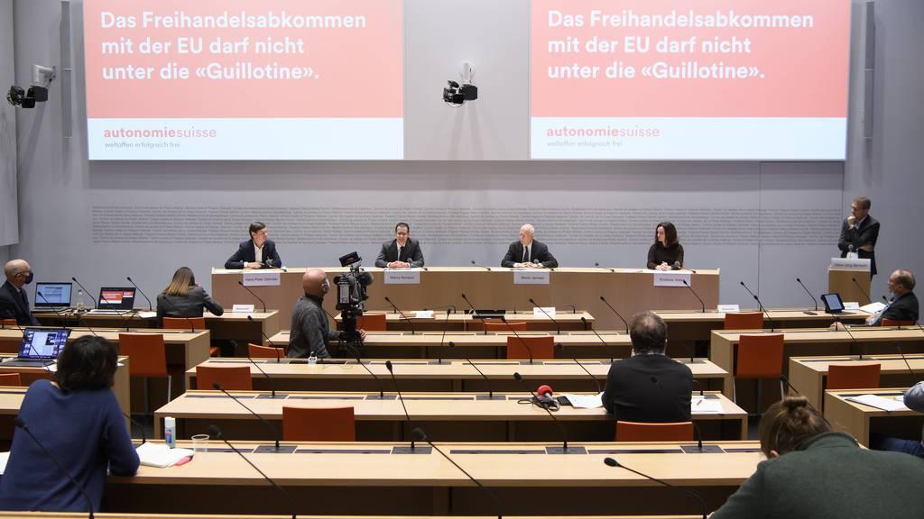 Widerstand von Unternehmern gegen das Rahmenabkommen wächst