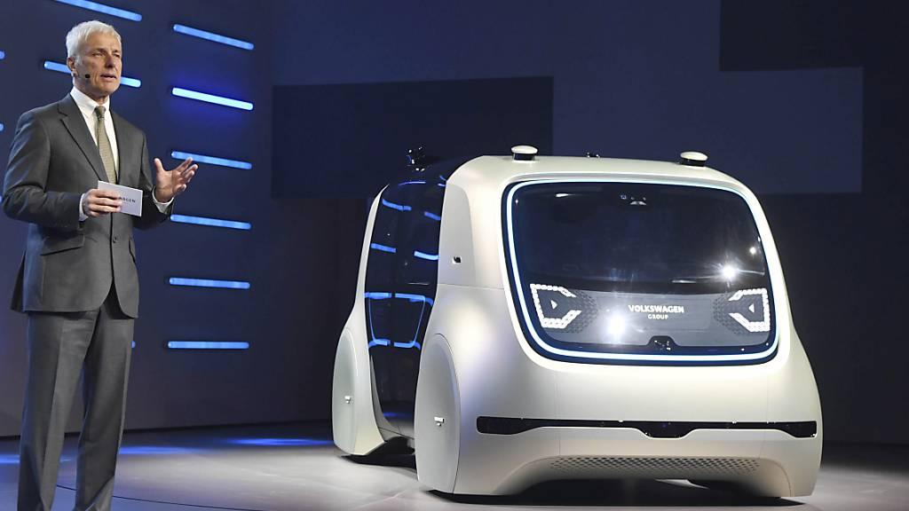 VW setzt auf Microsoft-Cloud für automatisiertes Fahren