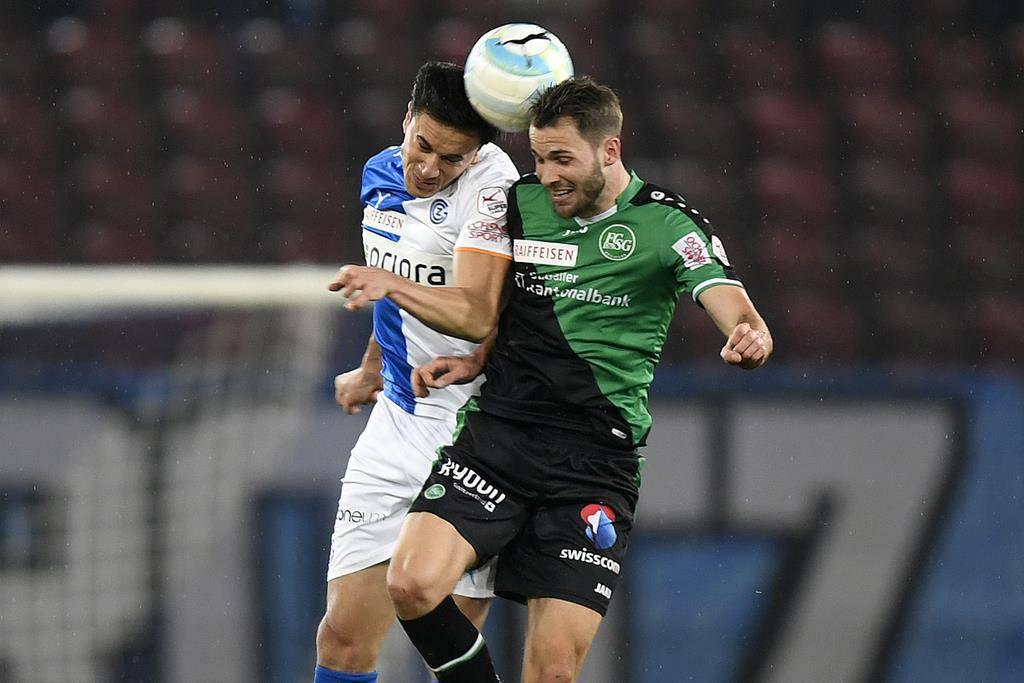 Der FC St.Gallen trennt sich von GC mit einem 2:2 Unentschieden (© Keystone)
