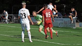 Calvin Heim gab gegen Wettswil-Bonstetten sein Debut im Dietiker Tor, konnte die Niederlage aber auch nicht verhindern.