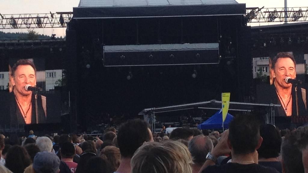 Bruce Springsteen begeistert im Letzigrund