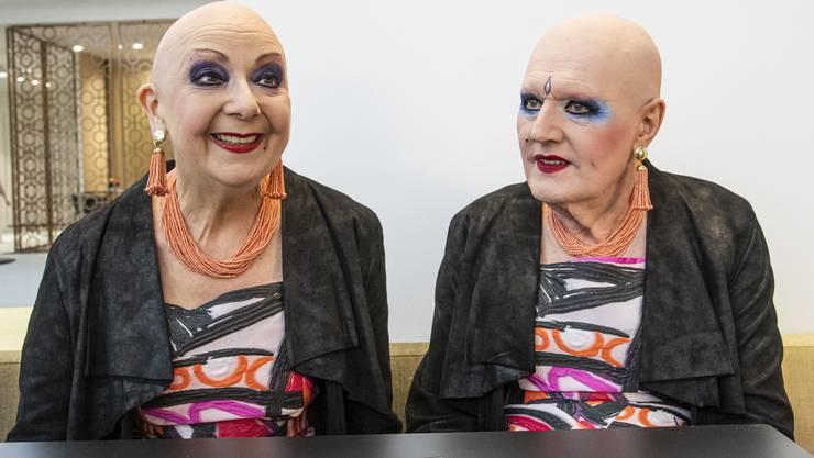 Das exzentrische Kunst-Duo: Eva und Adele.