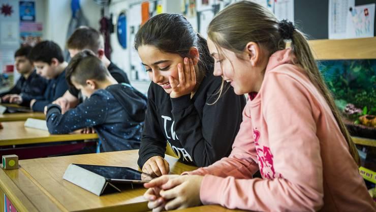 Die Kreisschule Buchs-Rohr – hier eine Abteilung im Schulhaus Rigiacher Buchs – soll mit Aarau fusionieren.