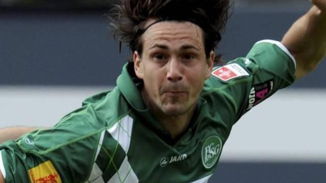 Doppeltorschütze gegen Sion: St. Gallens Marco Mathys