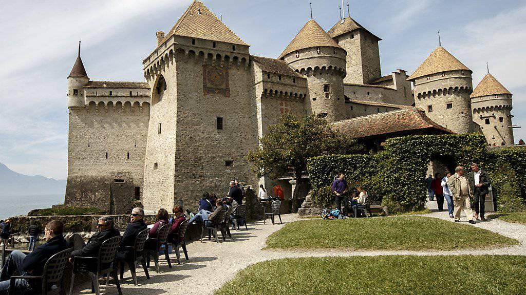 Das Schloss Chillon war letztes Jahr das beliebteste Museum der Schweiz, wie die Stiftung Schweizer Museumspass am Donnerstag mitteilte. (Archivbild)