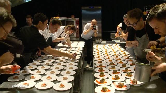 Kitchen-Battle: SwissDinner-Koch Erik Haemmerli sahnt mit seinem Team ab