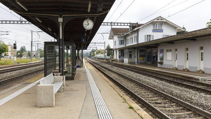 Luterbach-Attisholz ist einer der Bahnhöfe, die nicht fristgerecht umgebaut werden.