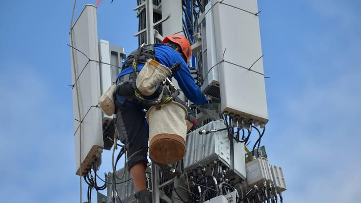 Die Gemeinde Bergdietikon bestätigt, dass zwei Parteien innerhalb der Rekursfrist im November Einsprache gegen die neue 5G-Antenne erhoben hätten. (Symbolbild)