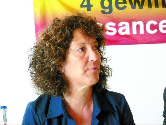 Barbara Egger: Sie kandidiert zum dritten Mal. Bilder: joh