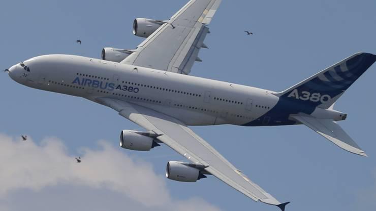 Die grosse Nachfrage nach Flugzeugen verleiht Airbus Schub.