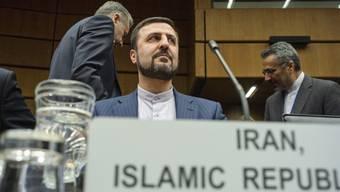 Kazim Gharibabadi, Irans Botschafter bei der Internationalen Atomenergiebehörde, am Mittwoch bei der Sondersitzung in Wien.