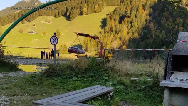 Leiche in Schwarzsee entdeckt