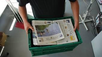 Zügelkiste: Die az Limmattaler Zeitung zieht um