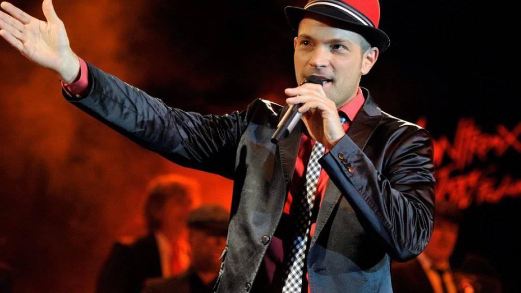 Roger Cicero singt 2010 am Montreux Jazz Festival (Archiv)