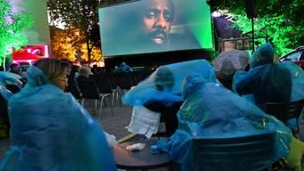 Auch wegen teils verregneten Vorstellungen war das Openair-Kino auf dem Platz der Begegnung in Olten heuer kein Publikumsrenner.