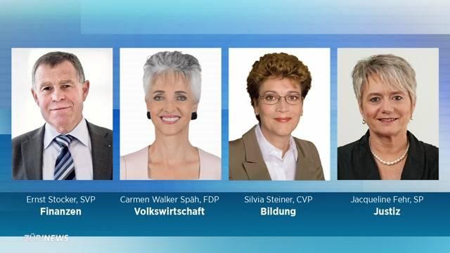 Ämterverteilung beim Zürcher Regierungsrat