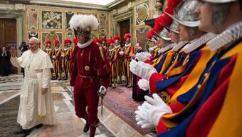 Papst Franziskus will, dass sich die Schweizergarde modernisiert. (Archiv)
