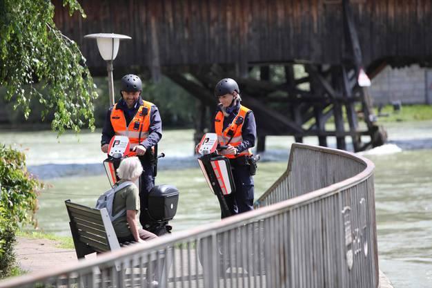 Die Segways sollen vor allem für die bürgernahe Polizeiarbeit in den Quartieren zum Einsatz kommen.