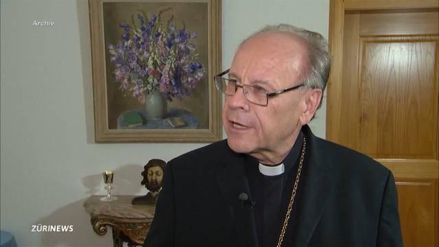 """Bischof Huonder: """"Verhütung gehört zur Kultur des Todes"""""""