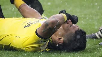 Ärgert sich über vergebene Chancen: YB-Kicker Martinez.