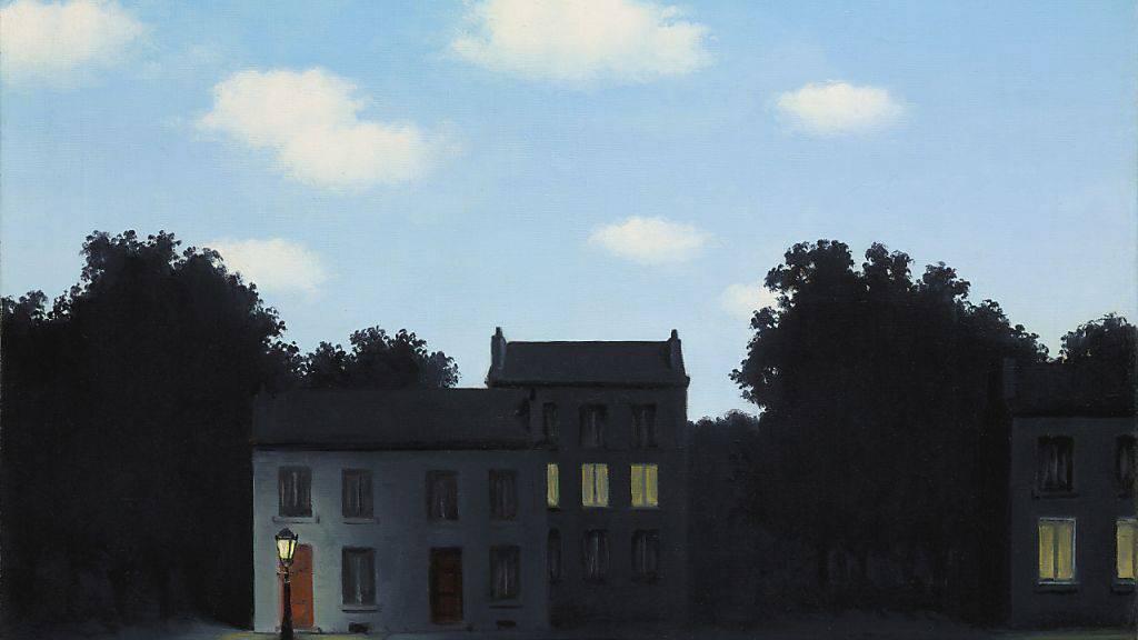 """Die Urversion von René Magrittes """"L'empire des lumières"""" aus dem Jahr 1949 kommt unter den Hammer. Erwartet wird ein Zuschlagspreis von bis zu 17,5 Millionen Franken. (Pressebild)"""