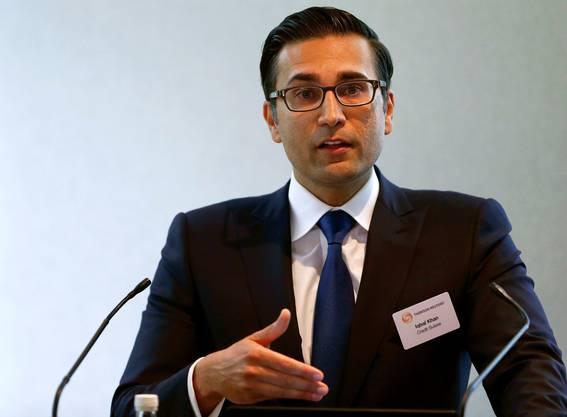 Topmanager Iqbal Khan. Bild: Arnd Wiegmann/Reuters