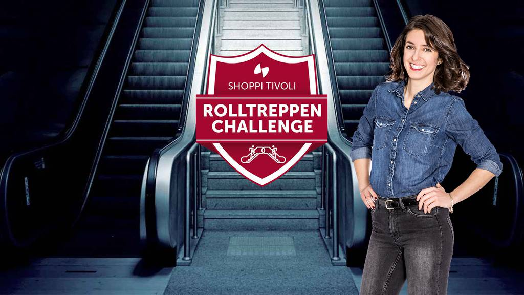Team Aargau gewinnt die Rolltreppen Challenge