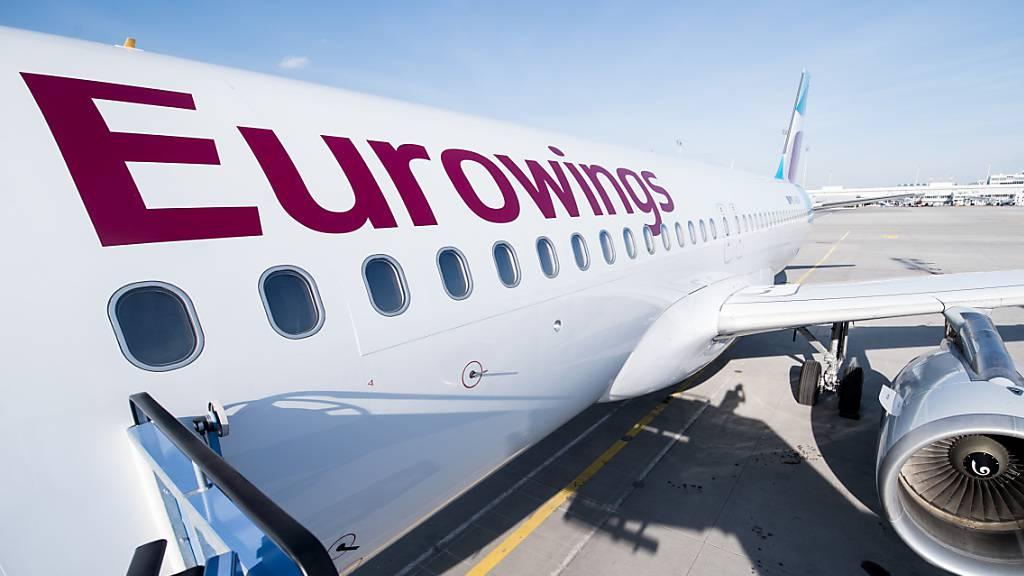 Lufthansa-Tochter Eurowings heuert Kabinenpersonal an
