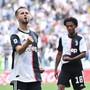 Miralem Pjanic jubelt nach seinem Führungstor für Juventus gegen SPAL Ferrara