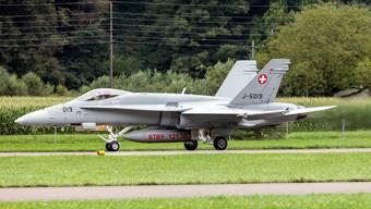 Die F/A-18-Flieger der Schweizer Armee sind in die Jahre gekommen. (Symbolbild)