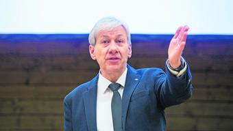 Jean-Claude Kleiner begleitete nicht nur das               BEEH-Projekt im oberen Fricktal, sondern auch das Fusionsprojekt Rheintal+ im Zurzibiet.